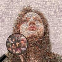 Мозаика из Ваших фото на холсте