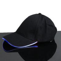 Светящаяся LED кепка (Синий)