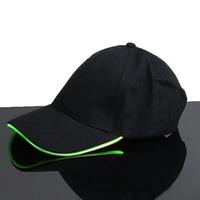Светящаяся LED кепка (Зеленый)