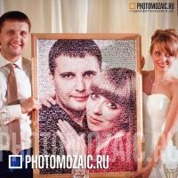 Фотомозаика - оригинальный подарок на годовщину свадьбы