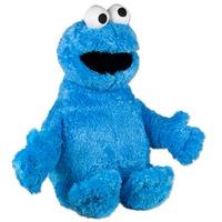 Мягкая игрушка Куки монстр Play Doh Cookie Monster (Коржик из Улицы Сезам) (42 см с глазами из плюша)