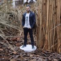 3D фигурка брату - точная мини копия!