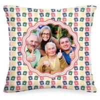 Подушка с Вашим фото «Наша семья»