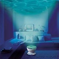 Проектор ночник волн океана с музыкой