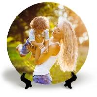 Тарелка с Вашим фото «Яркий кадр»
