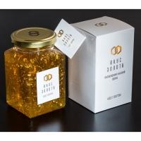 Мед с золотом для еды