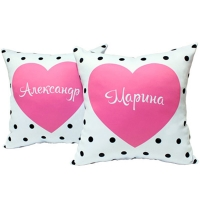 Две подушки для влюбленных