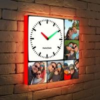 """Световые часы """"Фотоколлаж"""""""