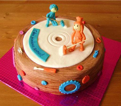 Торт в стиле фиксиков