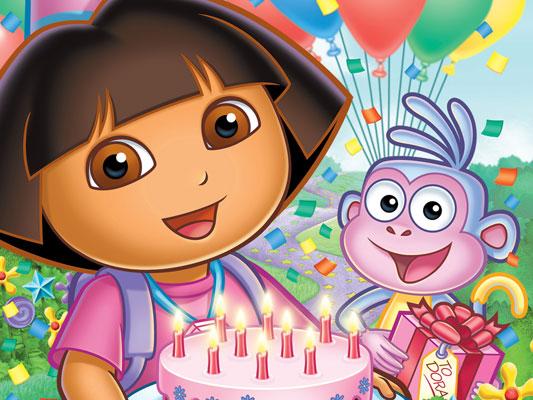 День рождения девочки 4 года