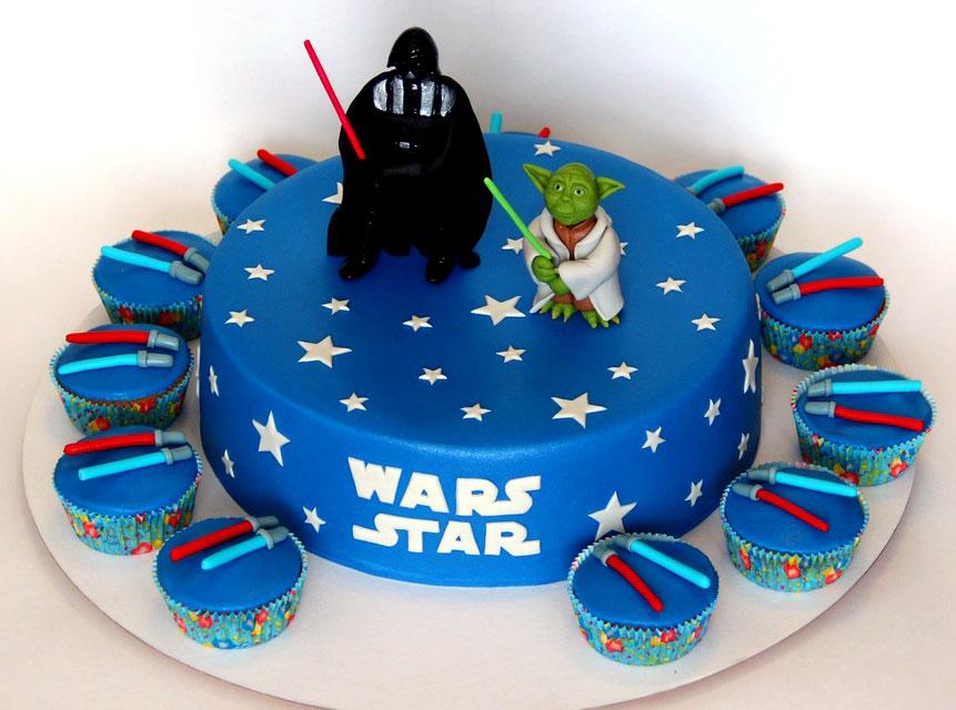 Торт в стиле звездные войны