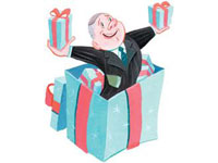 Что подарить человеку который уходи на пенсию