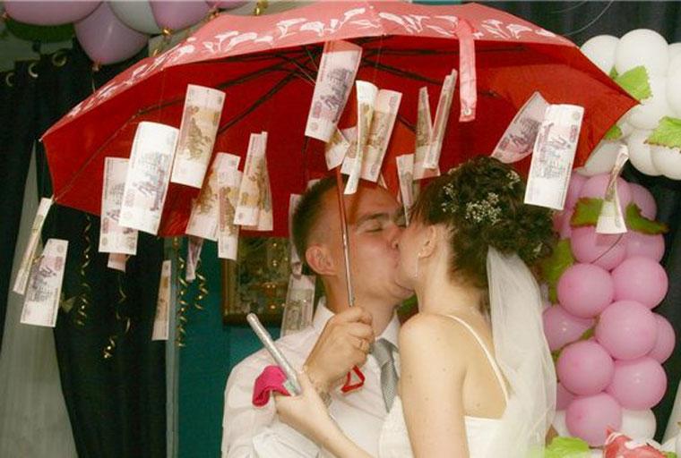 Как обыграть подарок на свадьбу мыло