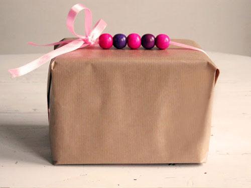 Необычное украшение подарков