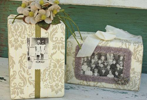 Декор подарочной упаковки