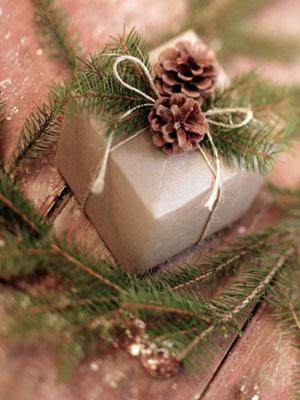 Форма упаковки подарка мужчине
