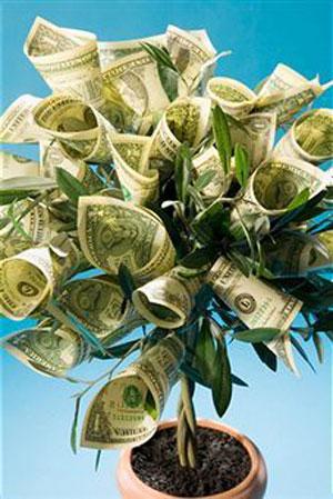 Оформление денежных подарков на свадьбу