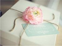 Оформление подарков на свадьбу