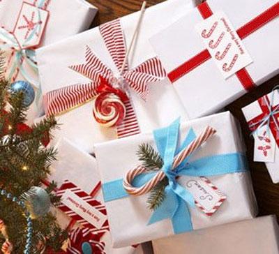 Традиционные украшения подарков